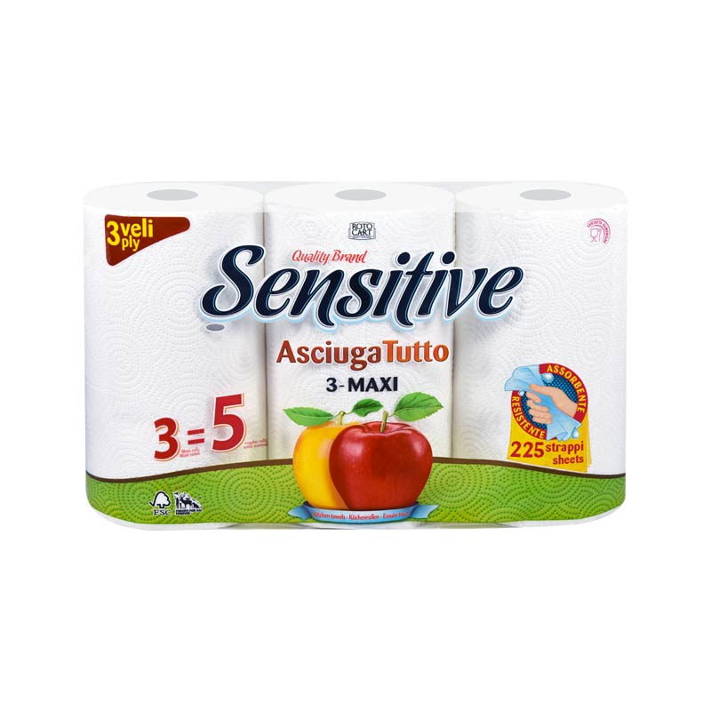 Asciugatutto Sensitive