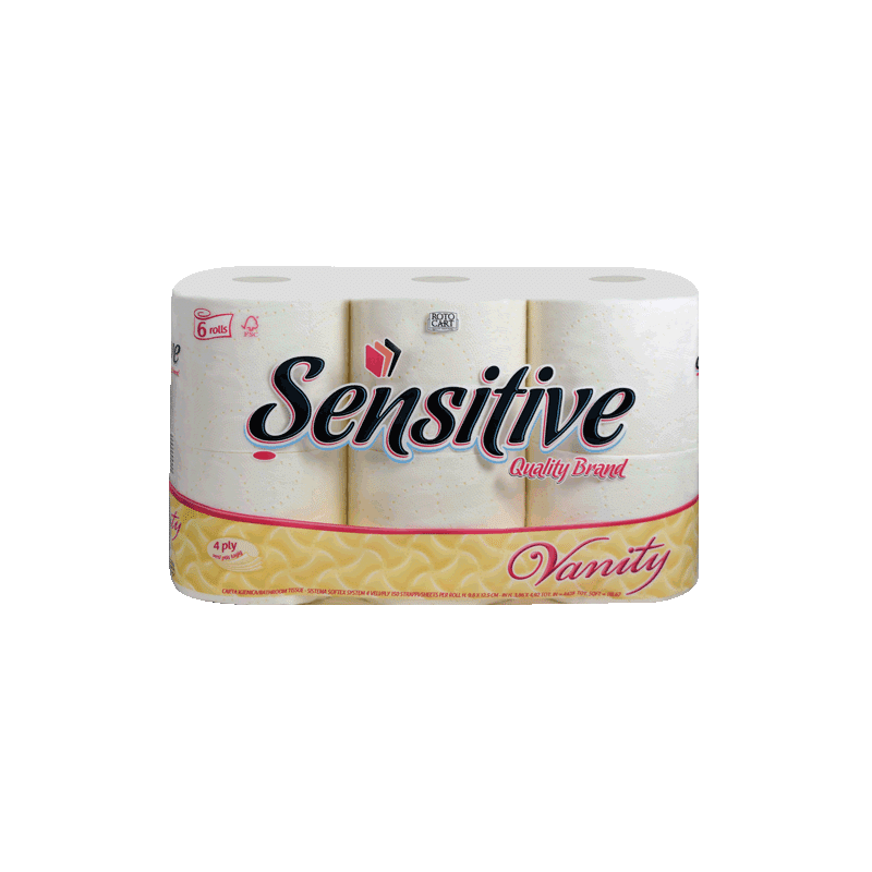 Carta Igienica Sensitive Vanity